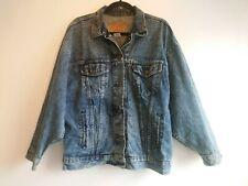 Men's Vintage Levi's Blue Acid Wash Denim Trucker Jacket Size Large 77930 USA