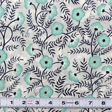 Lot L779 - CHERRY MINT by Clothworks #C2044 - Patchwork Fabric by the ½ metre
