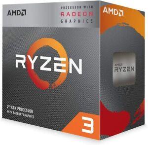 AMD Ryzen 3 3200G 4 Core AM4 3.6GHz CPU Processor + Cooler