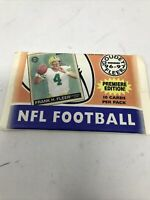 RARE SEALED 1996-97 Fleer Skybox '96-'97 GOUDEY NFL Football Factory Sealed Pack