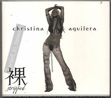Christina Aguilera: Stripped (2002) CD SLIPCOVER & 32p BOOKLET TAIWAN SEALED