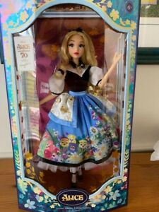 Disney Alice in Wonderland Doll by Mary Blair Limited Edition 70th Anniversary