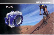 CAMERA SPORT SC200 PHOTO 6mp + VIDEO HD ETANCHE A 30M ULTRA COMPLETE/Genre Gopro