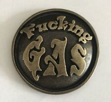 UNIQUE RARE ANTIQUE BRASS HARLEY-DAVIDSON MOTORCYCLE F**KING GAS CAP COVER