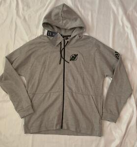 Men's New Jersey Devils adidas Stadium ID Full-Zip Hoodie Jacket XL NWT $100