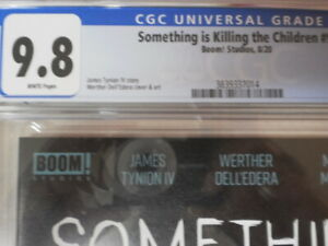 SOMETHING IS KILLING THE CHILDREN 9 CGC 9.8 COVER (A) PRINT COMING TO NETFLIX
