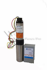 """18HS15412C Goulds 18GPM 1.5HP 4"""" Submersible Water Well Pump & Motor 3 Wire 230V"""
