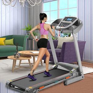 3.25~2.25HP Electric Incline Treadmill Folding Motorized Running Machine W/ APP