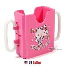 Hello Kitty Baby Kid's Small School Snack Size Beverage Drink Adjustable Holder