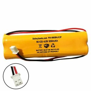 4.8v 800mah Ni-CD AA Battery Pack Replacement for Emergency / Exit Light