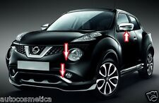 Nissan Juke 14 cover phares +cadres pare-chocs anter+affiches+miroirs gris perle