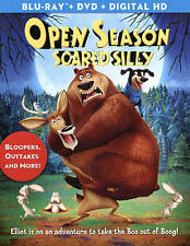 New: OPEN SEASON - Scared Silly Blu-Ray & DVD