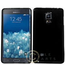 Samsung Galaxy Note Edge Candy Skin Black Cover Shell Protector Guard Shield
