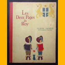 LES DEUX PAGES DU ROY Claude Farrère Pierre Fornairon 1947