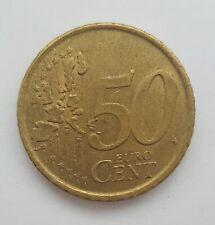 50 Euro Cent Coin 1999  Spain - Cervantes