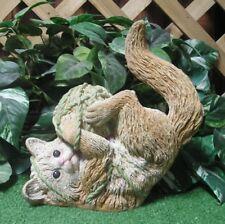 Tabby Persian Kitty Cat Kitten Playing Production Latex Fiberglass Mold Concrete