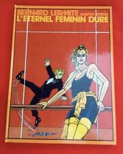 BERNARD LERMITE 4 ÉTERNEL FÉMININ ÉDITION FROMAGE BON ÉTAT BD BANDE DESSINÉE
