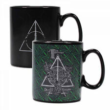Official Harry Potter Deathly Hallows Heat Changing Cup Mug 400ml BNIB FREE P+P