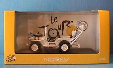 JEEP WILLYS ASSISTANCE TOUR DE FRANCE 1951 NOREV 845005 1/43 CYCLISTE VELO