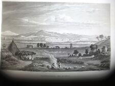 CAMPAGNA DI ROMA, 1840  da C. Frommel, H. Winkles  LAZIO
