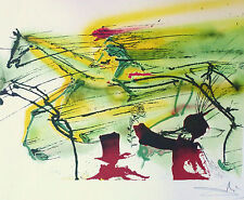 "SALVADOR DALI The Dalinean Horses ""RACE HORSE"" LE CHEVAL DE COURSE lim ed SIGNED"