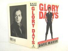 Glory Days : The Bruce Springsteen Story Continues by Dave Marsh 'FLAT SIGNED'