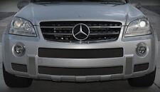 Mercedes ML ML63 63 2007-2008 4 pcs lower bumper mesh grille set oe style