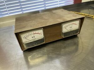 MICRONTA Analog VU Meters - PAIR - Vintage!!