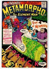 METAMORPHO #4 - VG/FN DC 1966 Vintage Comic