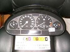 instrument cluster bmw e46 3 62116911286 bosch cluster cockpit clock