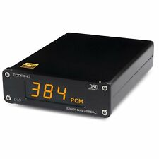 TOPPING D10 DAC ES9018K2M XMOS XU208 USB Optical Coaxial PCM384 Native DSD256