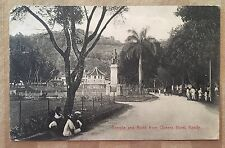 AH288 Kandy Sri Lanka Temple and Bund from Queens Hotel  Vintage PC
