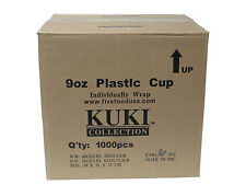 Disposable 9oz Plastic Cups - Kuki Collection