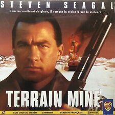 LASERDISC - TERRAIN MINE - WS VF PAL - Steven Seagal, Michael Caine,
