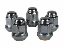 """Jeep Stainless Steel Lug Nuts (5)  1/2""""-20 Capped JK TJ YJ XJ ZJ WJ +FREE Gloves"""
