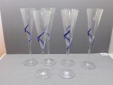 6 jolies fûtes, coupes, à champagne, De Saint-Gall