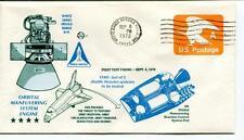 1978 First Test Firing Orbital Manuevering System Engine White Sands Missile USA