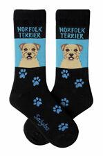 Norfolk Terrier Crew Socks Unisex