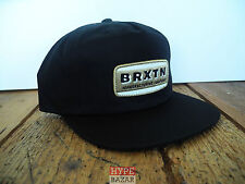 BRIXTON PHILCO SNAPBACK CAP NEU BLACK BRIXTON SUPPLY CO