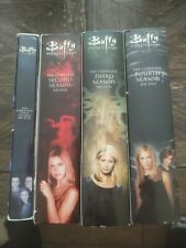 Buffy the Vampire Slayer Season 1 Thru 4 Dvd Box Sets Horror Fantasy Tv Show Fun