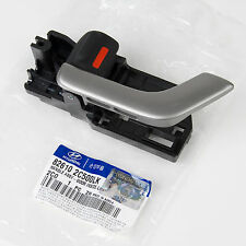 03-08 Hyundai Tiburon Tuscani Door Handle Int/Driver Side SILVER 82610-2C500LK