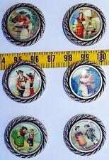 """nr. 40 Botones chaqueta americana plata Susurros De Amor 22mm 40"""""""
