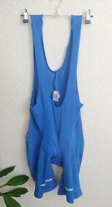 SMS Santini Cycling Bib Shorts Blue Italian Made Size 48/L