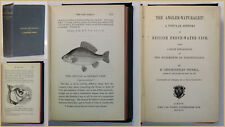 Pennell The Angler Naturalist 1863 Ichthyologie Fische Fischkunde Angeln xy
