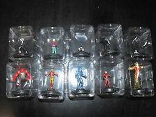 Heroclix Invencible Iron Man Completa 10 figura conjunto de alimentación por gravedad Lote 201-210