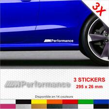 M PERFORMANCE Stickers Side Skirt BMW Car X3 Decals Graphics Vinyl Door