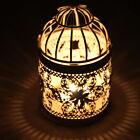 Candle Holders Hollow Metal Candlestick Wedding Candelabra Moroccan Lanterns