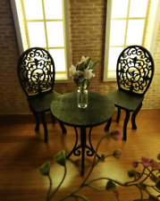 FR fashion royalty 1:6 Scale Dolls furniture fitting Table and chairs 3 pc.