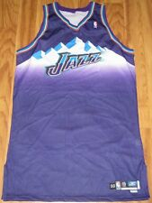 UTAH JAZZ AUTHENTIC REEBOK JERSEY 50 +6 LENGTH NBA BLANK NEW GALAXY CUSTOM 03-04