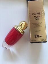 2016 Diorific Matte Fluid Cheeks/Lips by DIOR 004 Luxury